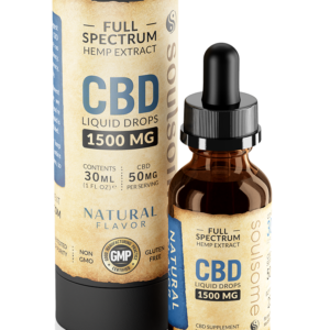 soulsome cbd liquid natural 1500mg